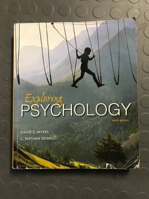 Exploring Psychology Myers Tenth edition for Sale in Arlington, WA