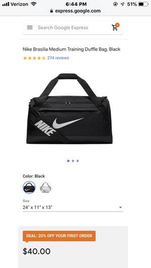 Nike duffle bag for Sale in Phoenix, AZ