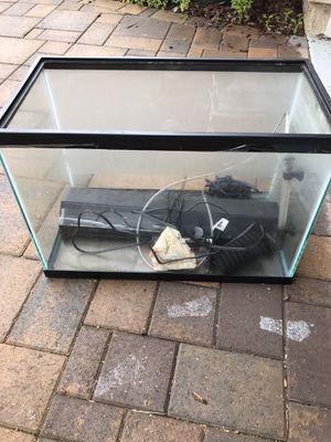2 20 gal aquariums w/accessories for Sale in La Mesa, CA