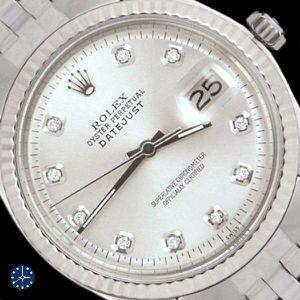 Mens Rolex Silver Diamond Fluted for Sale in Atlanta, GA