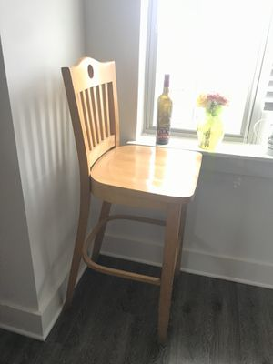 Wooden Bar chair for Sale in Durham, NC