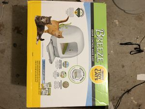 Breeze hooded cat litter box for Sale in Duluth, GA
