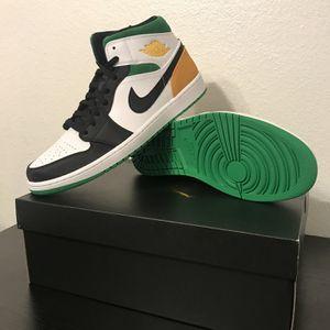 """Air Jordan 1 Mid """"Oakland"""" Men's 8,8.5,9,9.5,10,10.5,12 for Sale in San Antonio, TX"""