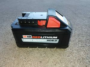 BATTERY MILWAUKEE for Sale in Phoenix, AZ