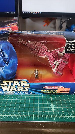 Star Wars Ep 1 Action Fleet Republic Cruiser for Sale in Anaheim, CA