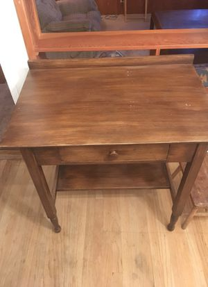 Small Wooden Desk L31, W21 Single Drawer for Sale in Los Angeles, CA
