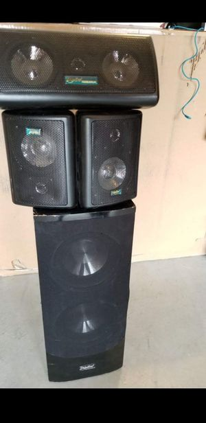 Speakers and Subwoofer for Sale in Chino, CA
