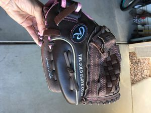"""Rawlings fastpitch softball glove, 12"""" WFP120 for Sale in Chandler, AZ"""