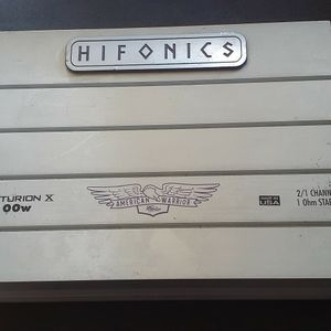 Hifonics 2x100w Amp for Sale in Vallejo, CA