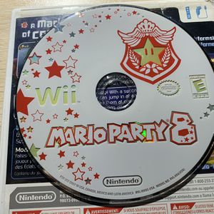 Nintendo Wii Mario Party 8 disc only, works great. for Sale in Agawam, MA