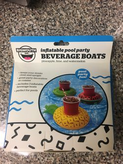 BIGMOUTH INFLATABLE BEVERAGE BOATS for Sale in Rockville,  MD