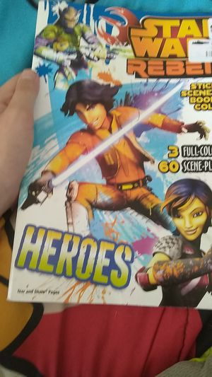 Star wars rebels coloring book for Sale in Mount Pleasant Mills, PA