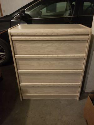 4 drawer dresser for Sale in Wood Village, OR