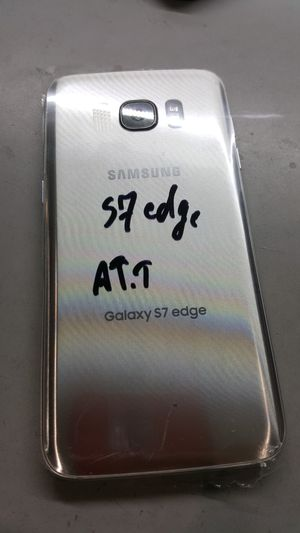 Samsung galaxy s7 edge, att and cricket for Sale in Covina, CA