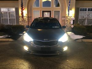 Kia Forte EX 2014 fully loaded miles 21000 super 👆title rebuilt fully loaded with , leather seat , power seat , heated seat , sunroof , camera buck u for Sale in Westerville, OH