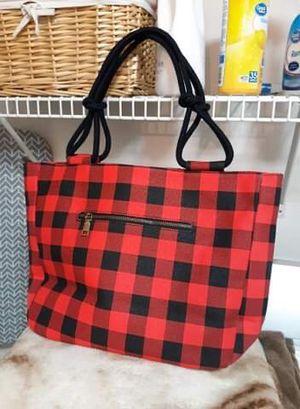flannel tote bag for Sale in Martinez, CA
