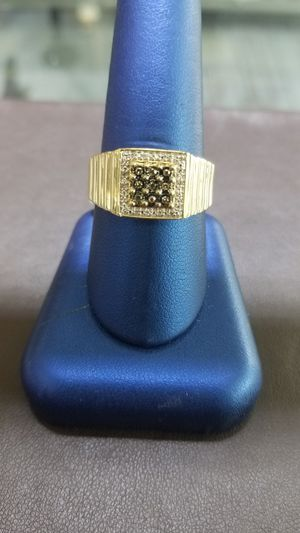 10kt YG Man's Diamond Ring. Size 10.5 (C-1) ASK FOR RYAN for Sale in Winston-Salem, NC