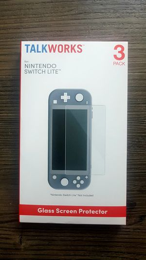 3 glass for switch lite for Sale in Hollywood, CA