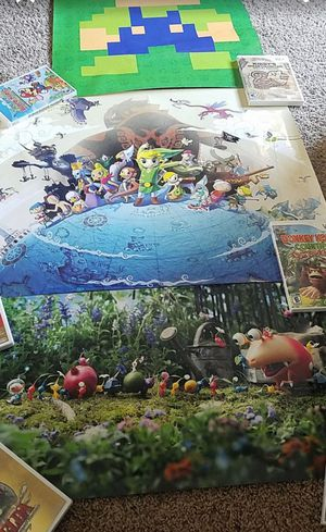 Rare club Nintendo posters for Sale in San Diego, CA