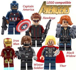 Minifigures Avengers works w Lego 6ct Mini Figures for Sale in Upland, CA