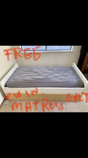 Free twin mattress for Sale in San Jose, CA