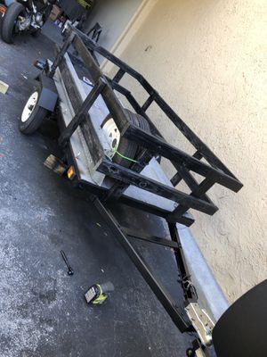4x8 utility trailer. for Sale in Pompano Beach, FL