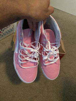 Limited pink SK8 high top vans for Sale in Cypress, TX