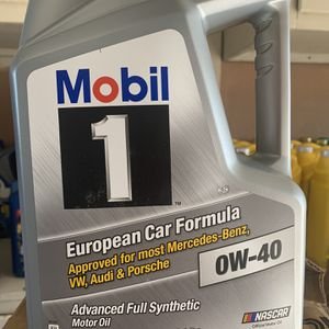 Aceite Full Synthetic Mobil (1) 0w40 for Sale in Fontana, CA