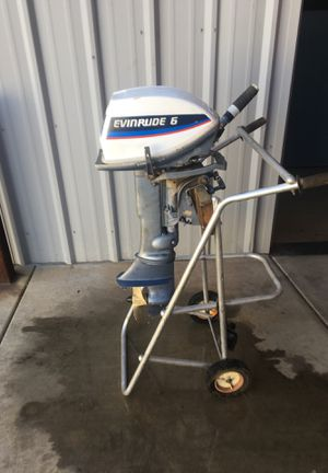 Evinrude 6hp Outboard Boat Motor for Sale in Phoenix, AZ