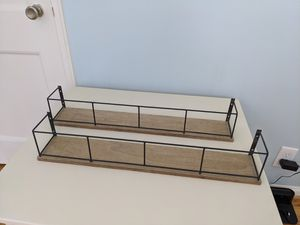 Decorative wall shelves for Sale in Falls Church, VA