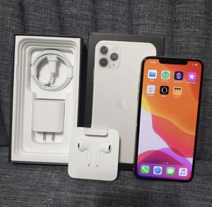 (New) iPhone 11 Pro Max / Silver for Sale in Bannister, MI