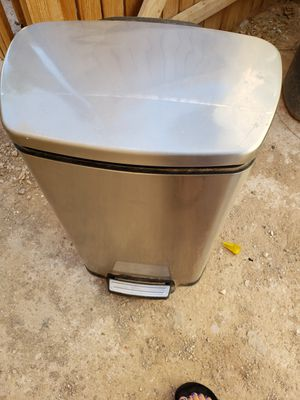 Stainless Steel Trash Can Great Condition for Sale in Las Vegas, NV