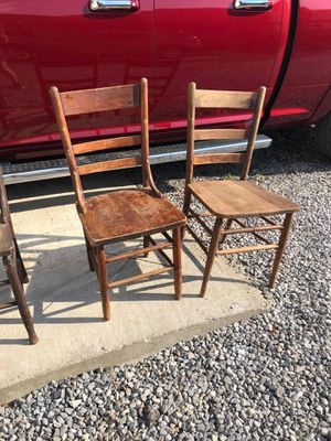 Chairs 2 of them $10 a piece or $20 for both for Sale in Cedar Hill, TN