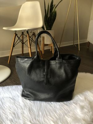 Black leather bag for Sale in Montclair, NJ