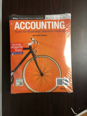 Accounting Tools for Business Decision Making 7th Edition for Sale in Chattanooga, TN