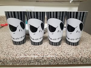 Nightmare before Christmas cups for Sale in Lewisville, TX