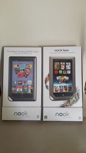 2 Nook tablets. Mint. $1 for Sale in Clearwater, FL