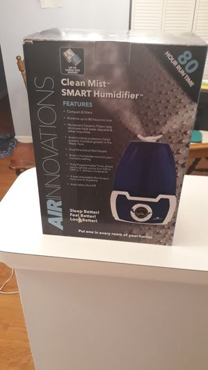 Mist Digital Humidifier By Air Innovations New Unopened Box for Sale in Voorhees Township, NJ