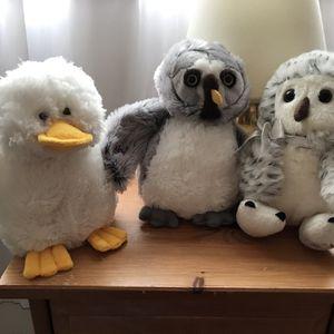 Webkinz Owl Duck Squirrel for Sale in Graham, WA