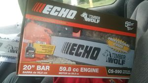 Bran new Echo 20inch Chainsaw for Sale in Seattle, WA