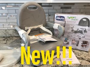 New Chicco Pocket Snack Portable Booster Seat for Sale in Las Vegas, NV