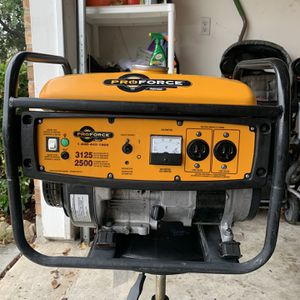 Powermate 3125 Generator for Sale in Houston, TX