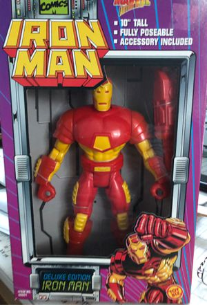 Iron Man 10 inch Deluxe Action Figure for Sale in Lutz, FL