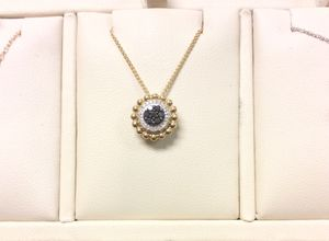 Diamond Pendant in Yellow Gold for Sale in Annandale, VA