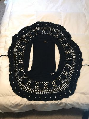 Black Vest Sweater with tie for Sale in Griffith, IN