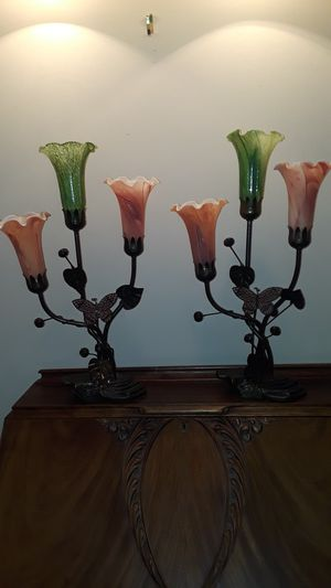 Tiffany Style Lilly Lamps for Sale in Willowbrook, IL