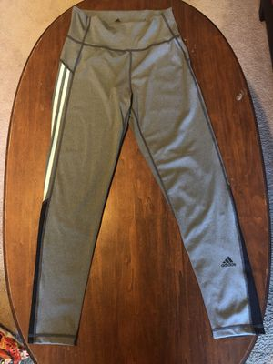 Adidas Active Wear Women's Leggings Lightly Worn! #119230861 Size Medium for Sale in Hilliard, OH