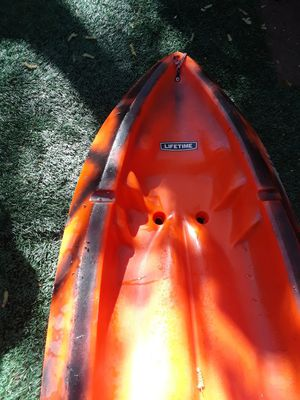 Kayak life time 1 person for Sale in Citrus Heights, CA