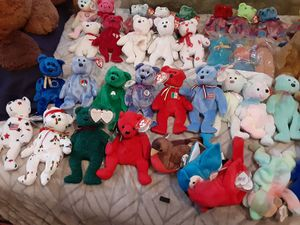 Ty Beanie babies collection plush toys collectibles for Sale in Tampa, FL