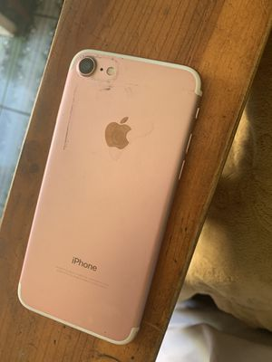 Rose gold iPhone 7 unlocked 128gb great condition! for Sale in Kearney, NE